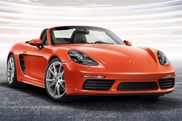 718 Boxster 2016