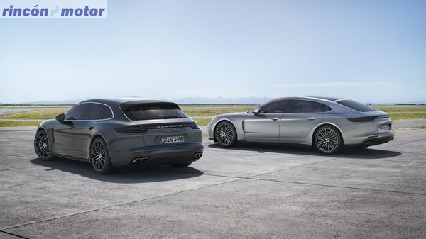 Panamera Turbo Sport Turismo und Panamera Turbo S E-Hybrid Executive
