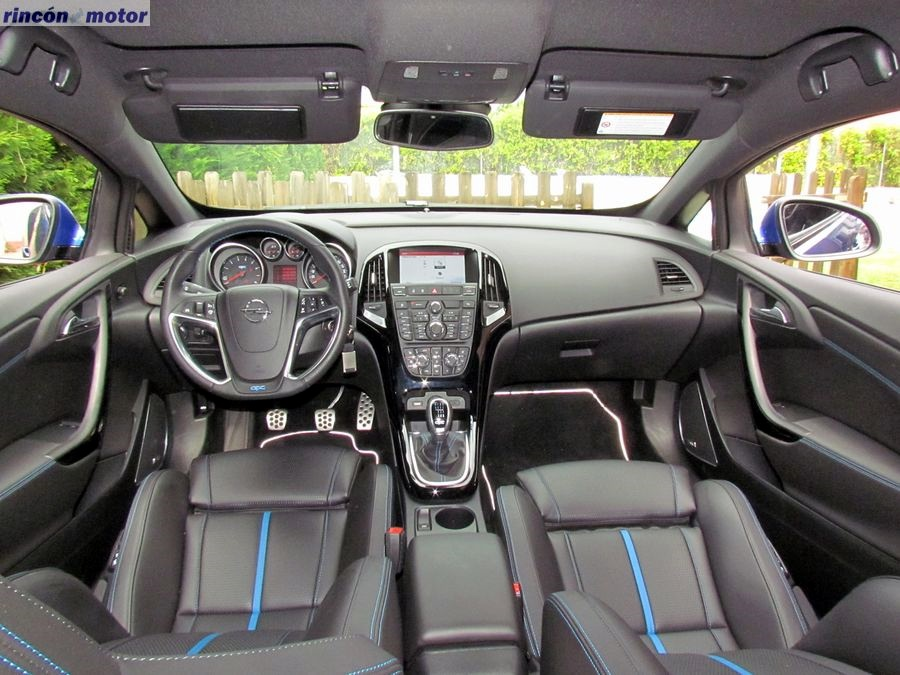 Opel Astra OPC 2017, fotografías al detalle - Rincón del Motor