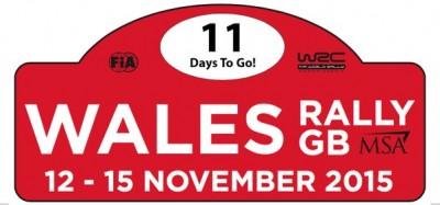 Placa Rallye de Gales