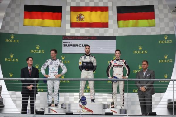 Álex Riberas logra su primera victoria en la Porsche Supercup; Eng se hace con el Campeonato