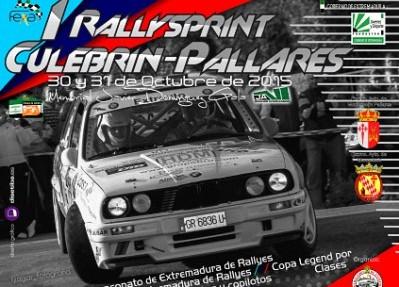 Cartel Rallyesprint Culebrin