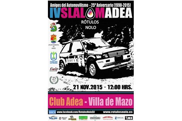 Lista inscritos IV Slalom ADEA 2015