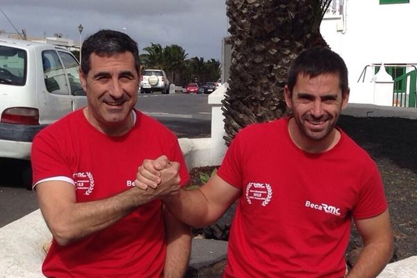 Miguel Fuster en el Eco Rallye de la Comunidad Valenciana