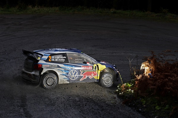 Latvala WRC Volkswagen Gales 2015
