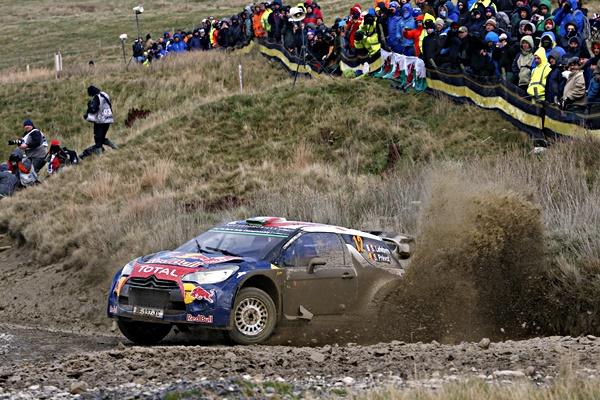 Lefevre Citroen DS3 WRC Gales 2015