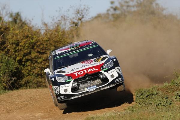 Meeke Citroen WRC
