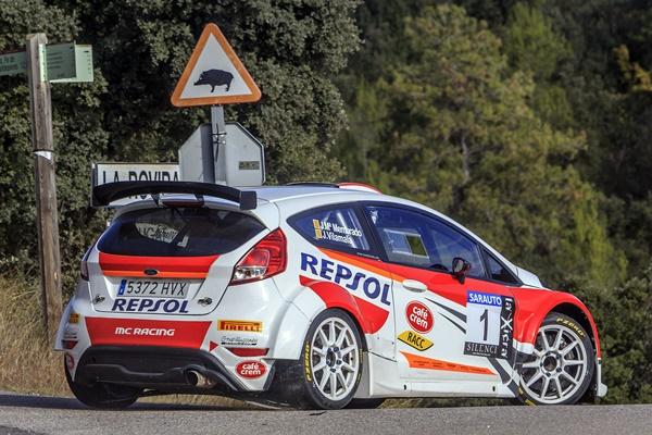 Membrado-Vilamala mantienen el liderato desde el inicio en el 55º Rallye 2000 Virages