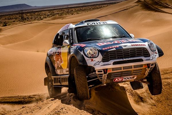 Mini en el Dakar 2016