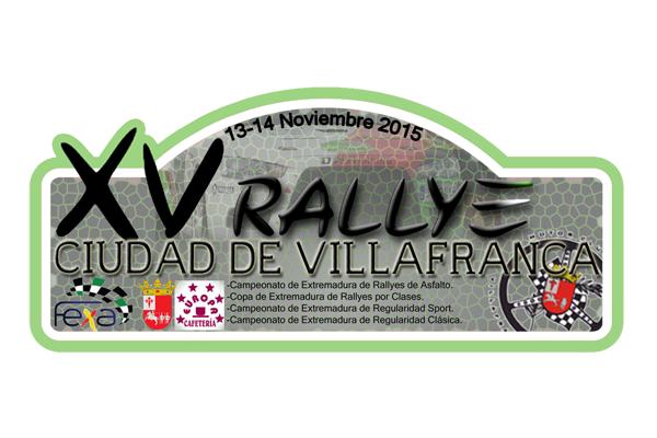 Placa Rallye VIlafranca