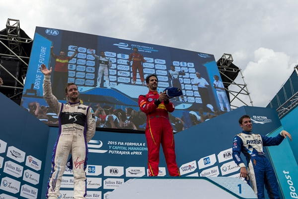 Sam Bird consigue en Malasia el primer pódium de DS Virgin Racing