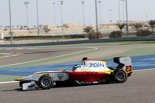 Zaid Campos racing gp2