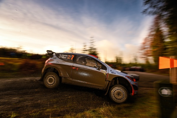 Dani Sordo Hyundai i20 WRC