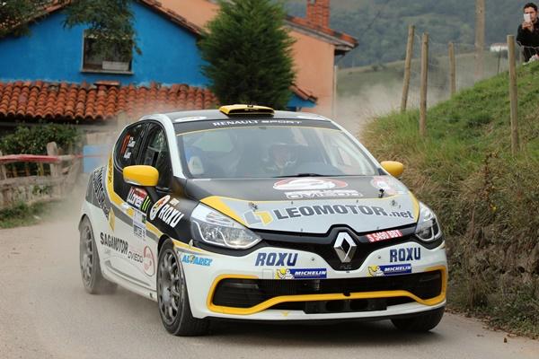 Fran Cima en el Rallye de Madrid
