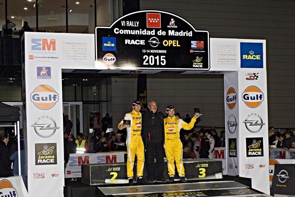 Gorka Antxustegi y Alberto Alonso consiguen excelentes resultados en el VI Rally Comunidad de Madrid