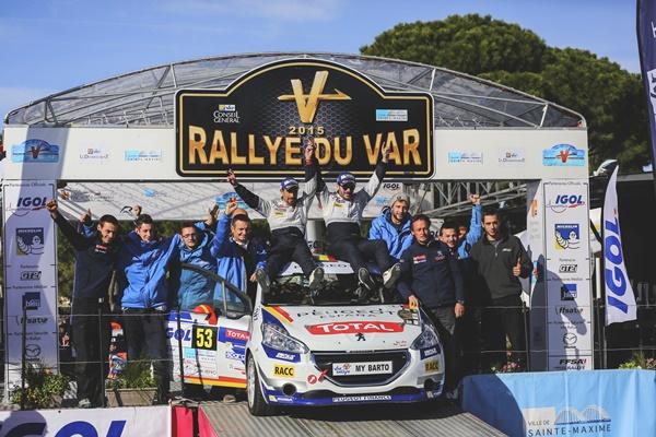suarez Rallye Du Var Podio 2911