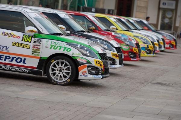 Arranca la Copa Suzuki Swift de Rallyes 2.016