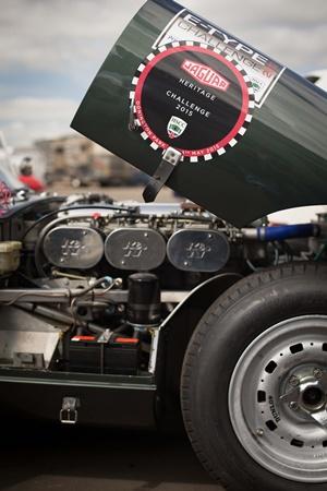Jaguar Heritage Challenge_2015 Donington Park