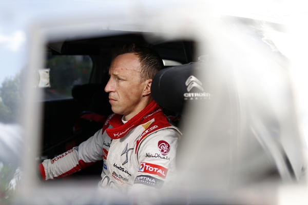 Kris Meeke Citroën Racing