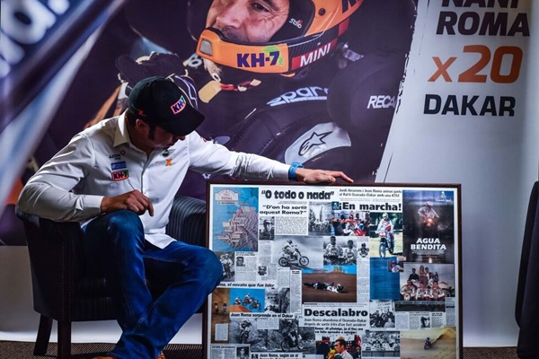 Nani Roma 20 Dakar