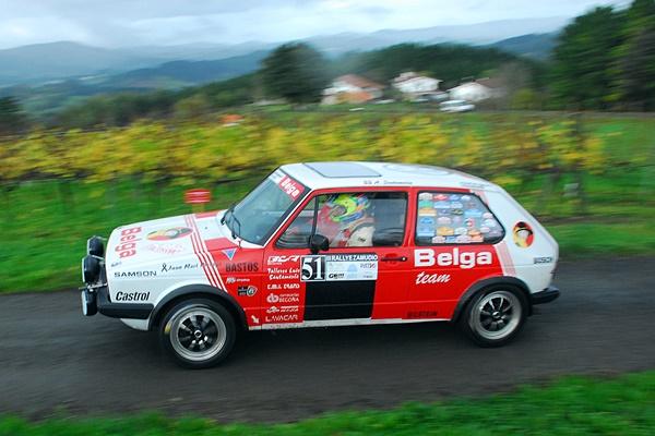 santamaria-bringas Rallye Zamudio