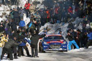Cohete Suarez Rallye Monte Carlo WRC2 Peugeot 208