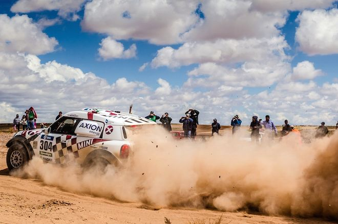 Dakar 2016 Etapa 8 Nani Roma Mini