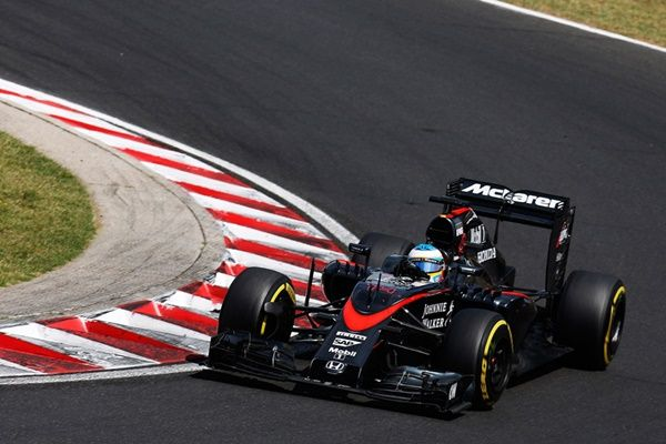 Fernando Alonso McLaren F1