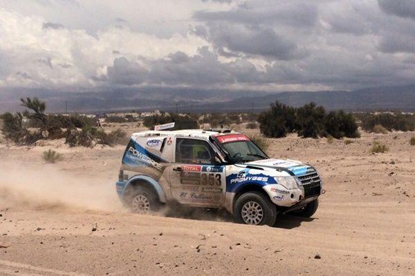 Gracia Vallejo Mitsubishi Dakar 2016