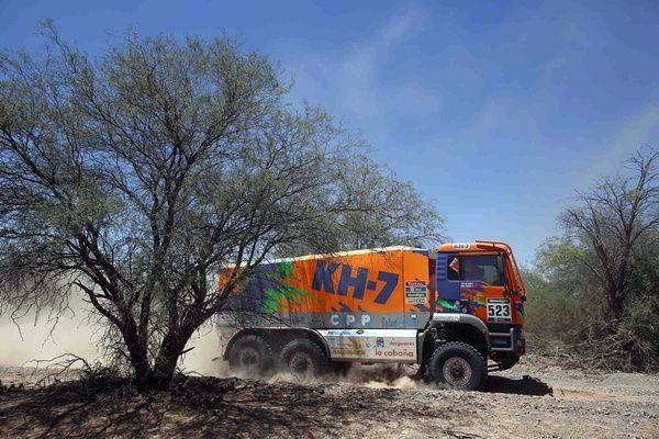 Juvanteny-Criado KH7 Dakar 2016