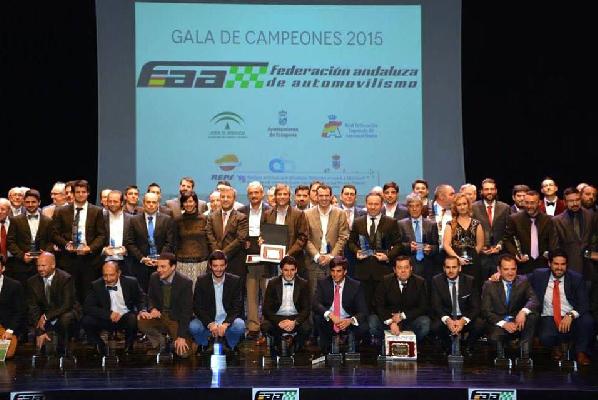 José Antonio Aznar, tricampeón de Rallyes en Andalucía