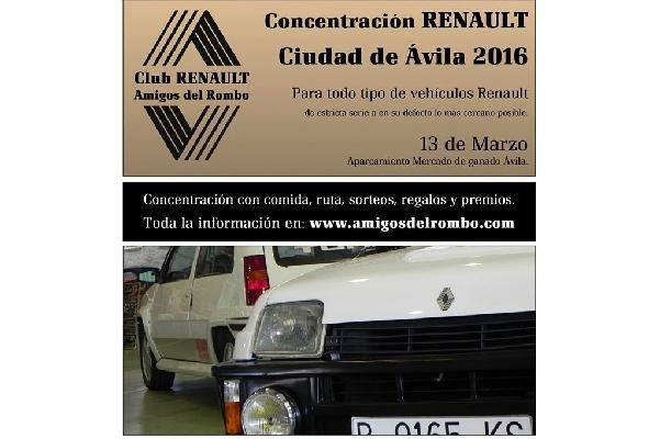Concentración de Renault