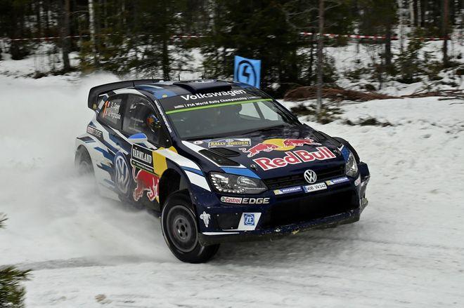 VW WRC Suecia Ogier