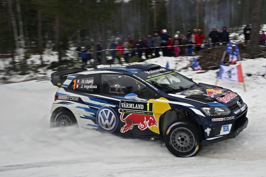 VW WRC Suecia Sebastian Ogier