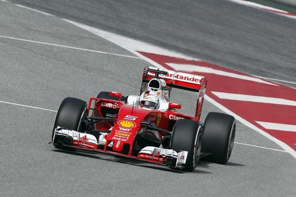 Vettel Test Montmelo