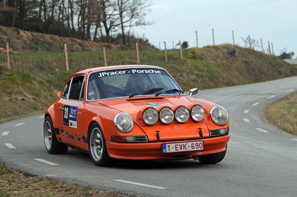 Deflandre-Lambert Porsche 911 rallye costa brava historico