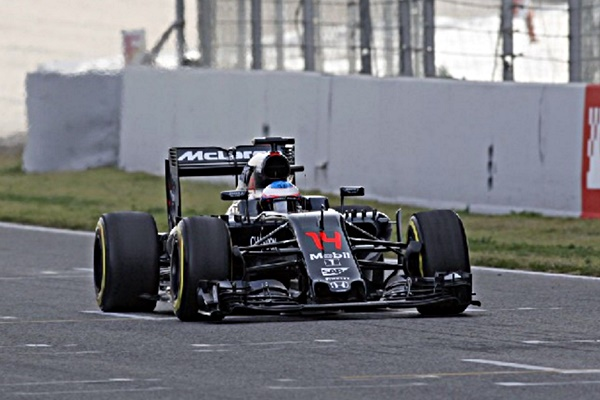 alonso f1 cataluña test
