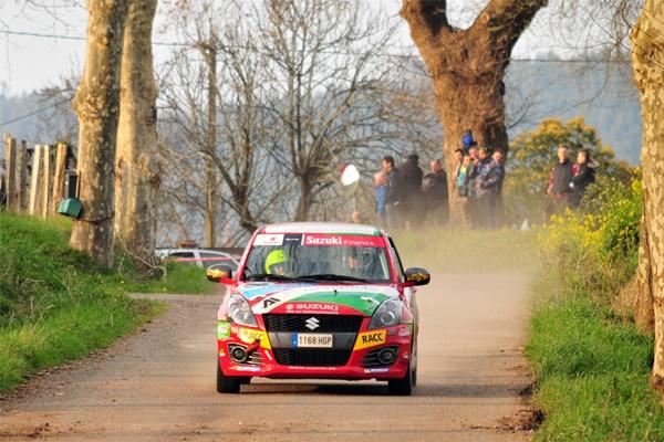 Alvaro Iglesias gana el Grupo N en el Rallysprint de Hoznayo