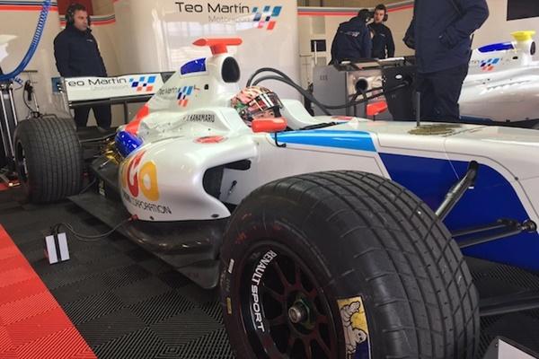 kanamaru test Formula 35 navarra