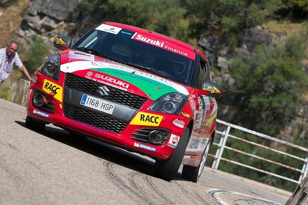 Álvaro Iglesias a comenzar con buen pie en el Rallye Sierra Morena