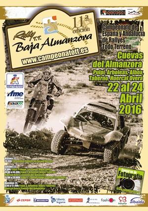 Cartel Baja Almanzora 2016