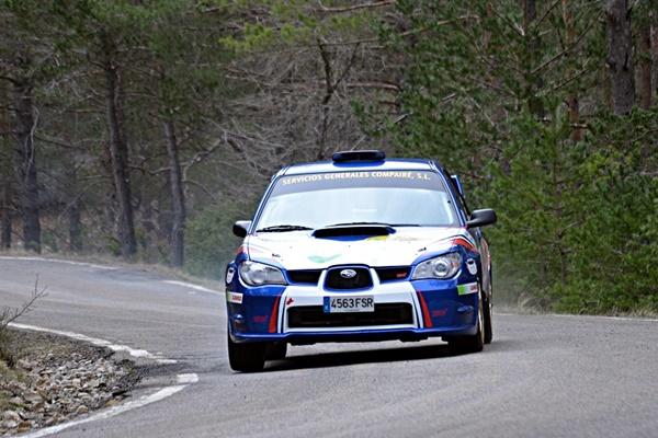 Compaire - Franco RallySprint Sabiñanigo 2016 impreza