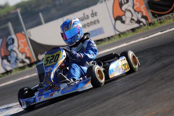 Karting Formula Campeones Carles martinez