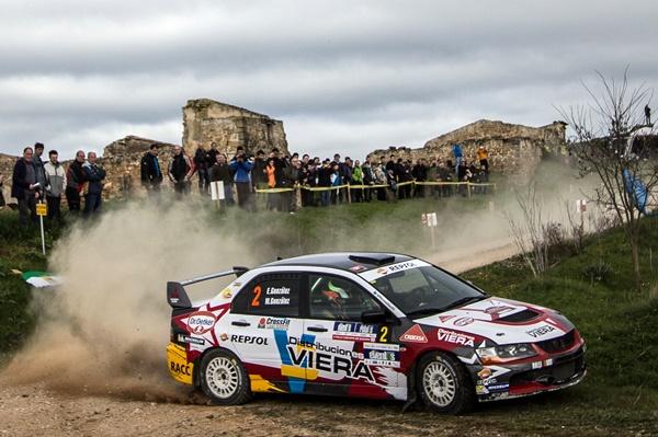 MItsubishi Marcos Edu González Rallye Navarra 2016