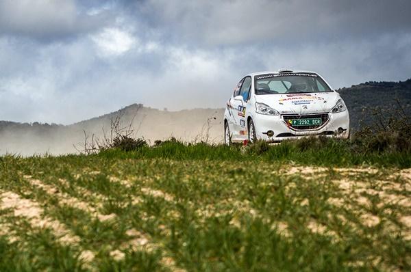 Peugeot Bañeres Rosell Rallye Navarra 2016