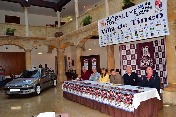Presentado el 36° Rallye Villa de Tineo 2016