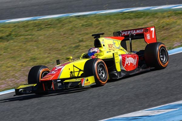 campos racing test gp2 jerez 2016