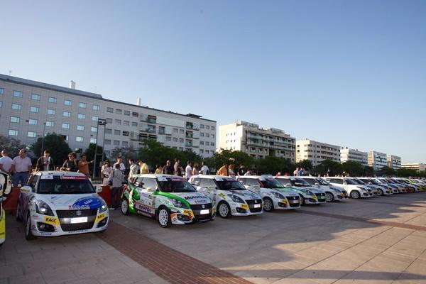 Comienza la Copa Suzuki de Rallyes en el Sierra Morena