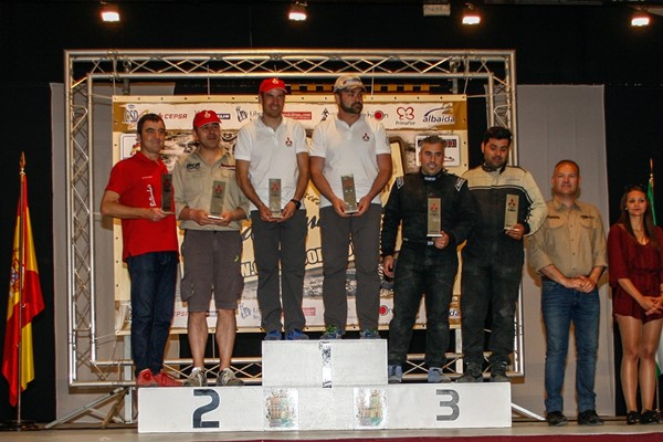 podium evo cup almanzora