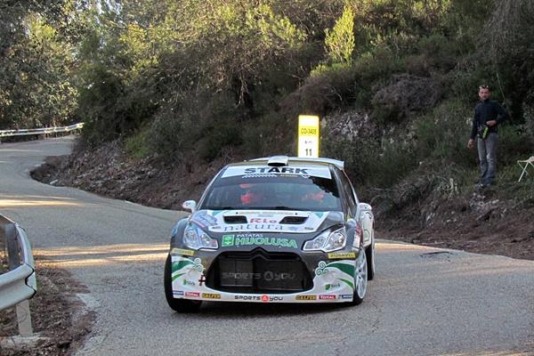 vallejo ds3 R5 rallye Sierra Morena